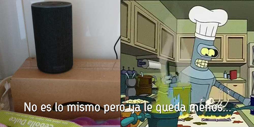 Alexa en la Cocina